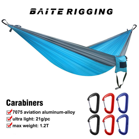 Carabiners for Hammocks 2 4 6 8 pcs Sets Lightweight Strong Aluminum ...