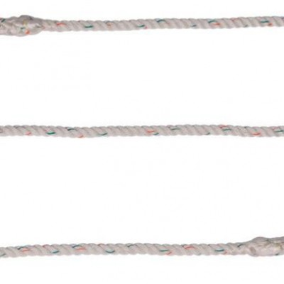 simple single lanyard with two carabiners