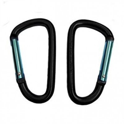 Aluminum Carabiner Keychain Clip with Keyring