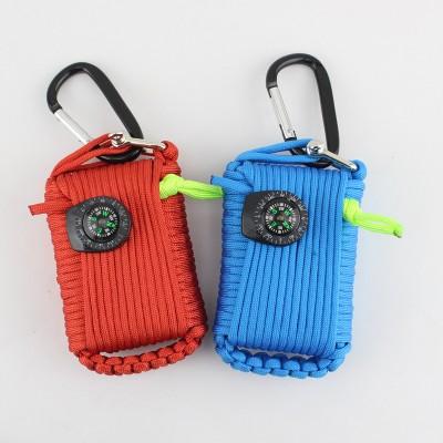 camping & hiking survival kit tin equipment