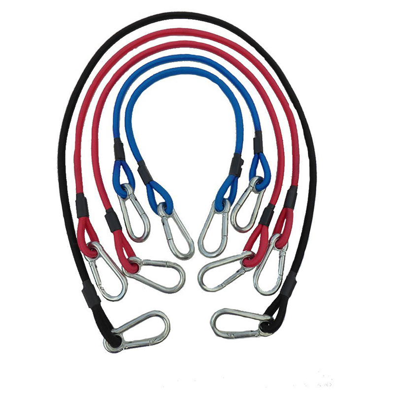Carabiner Super Heavy Duty Bungee Cords With Hooks