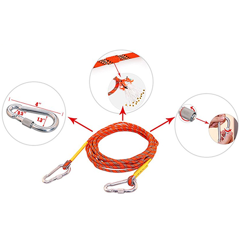 Rock Climbing Safety Rope 3