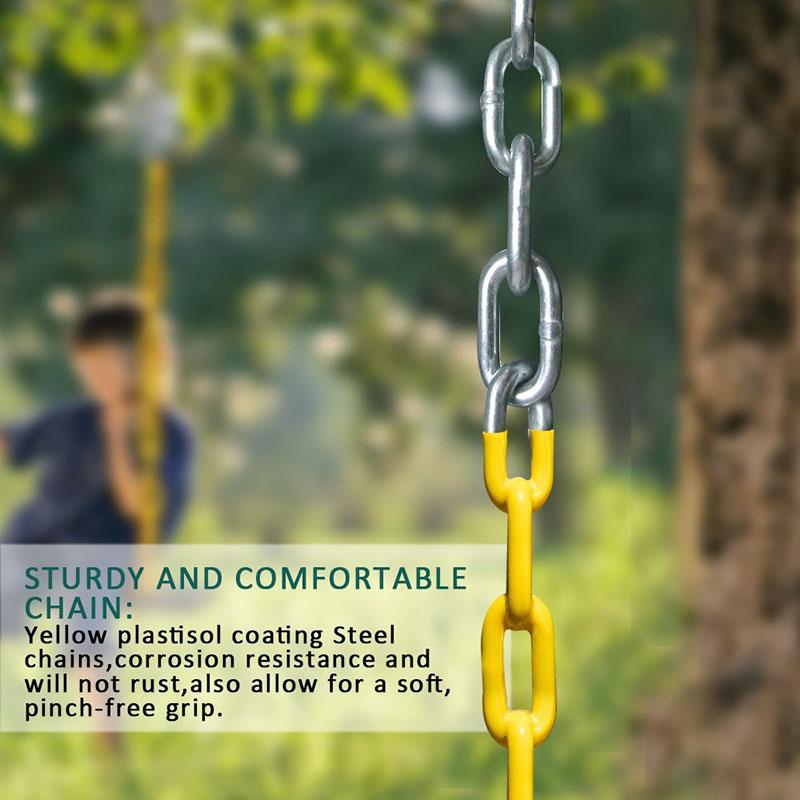 Swing Set Accessories Swing Seat Replacement 4PCS Heavy Duty Swing Seat Blue