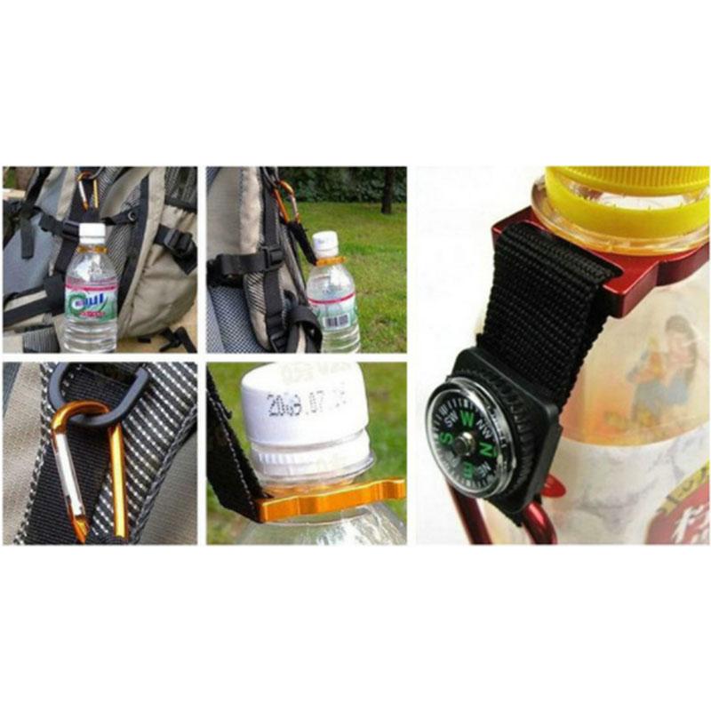 Aluminum Carabiner Bottle fastening 5