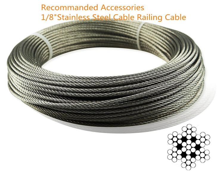 Muzata Cable Railing Kit - Wenzhou Baite Rigging Co., Ltd.