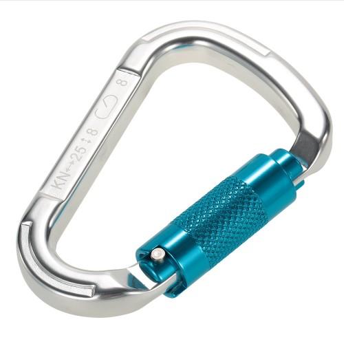 Aluminum Alloy Autolock Self-Locking Climbing Carabiner 1