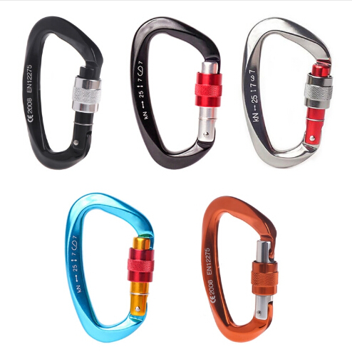 Carabiner Aluminum Alloy Hook Climbing Camping Outdoor Survival Tool 2